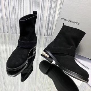 ニコラスカークウッド(Nicholas Kirkwood)のニコラスカークウッド ブーツ 本物 靴(ブーツ)