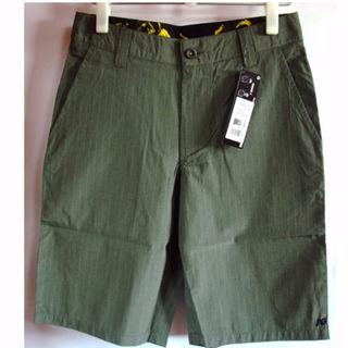 アナログクロージング(Analog Clothing)のAnalog モレノ ハーフ パンツ 緑 ウエスト 78cm ショートパンツ(ショートパンツ)