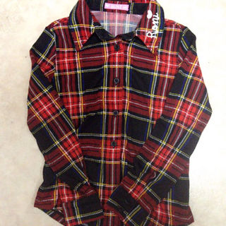 ロニィ(RONI)のRONI☆チェックシャツ☆SM(117〜127)(その他)