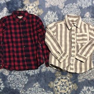 ザラ(ZARA)の[新品&美品]120センチキッズシャツ116センチ(その他)