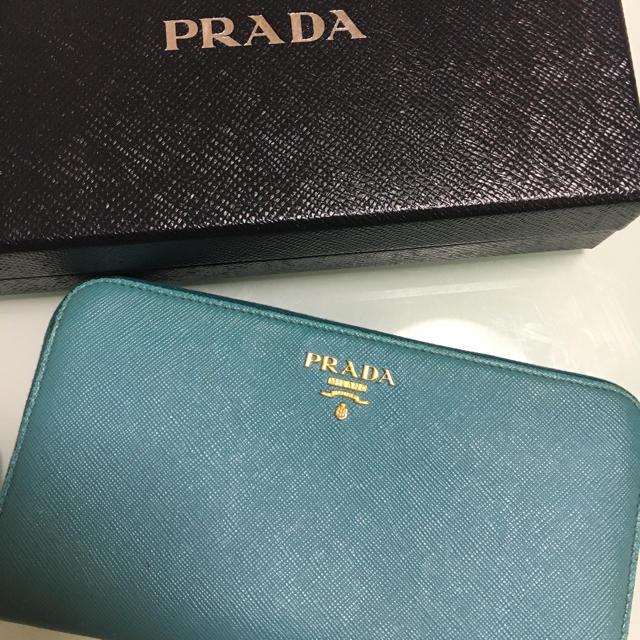 size 40 f2a7d d36ff プラダ サフィアーノ 財布 | フリマアプリ ラクマ