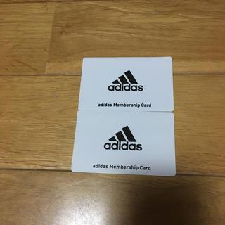 アディダス(adidas)のadidas カード(その他)