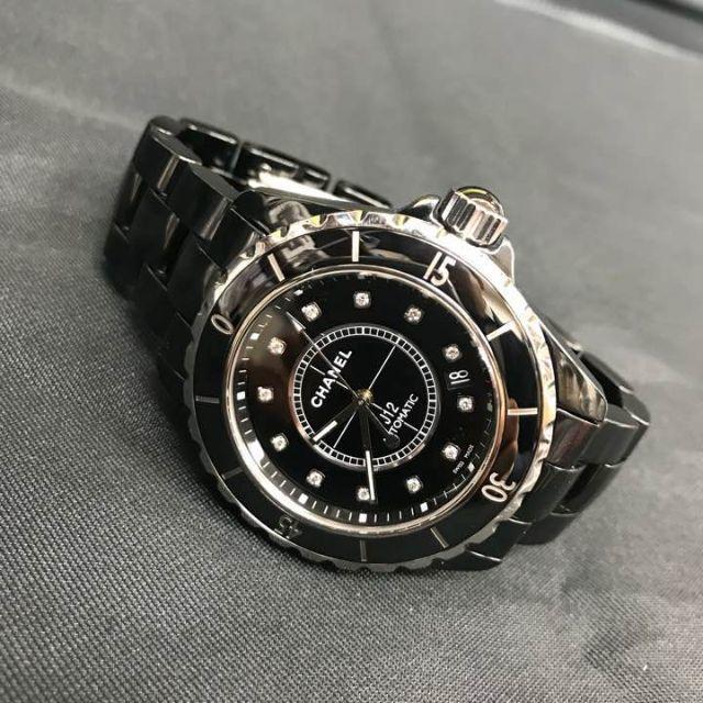 online retailer 9e5aa 77eb5 専用☆☆シャネル J12 ダイヤモンド 時計 自動巻き | フリマアプリ ラクマ