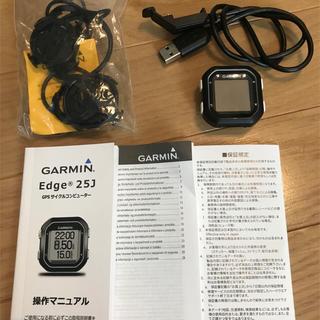 ガーミン(GARMIN)のサイクルコンピュータGARMIN Edge25j 国内正規 メーカー保証付き(パーツ)