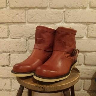 キューブシュガー(CUBE SUGAR)の送料込☆新品  レザー♪ブーツ(ブーツ)