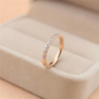 ステンレス指輪 キラキラリング 指輪 リング(リング(指輪))