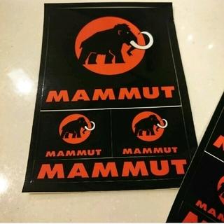 マムート(Mammut)の10枚! 新品 マムート  ポストカード ステッカー(その他)