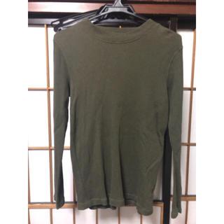 ジーユー(GU)のワッフル ロンT サーマル 値下げ(Tシャツ(長袖/七分))