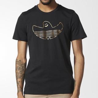アディダス(adidas)のM【新品/即日発送OK】adidas オリジナルス スケボ シュムー 黒金(Tシャツ/カットソー(半袖/袖なし))