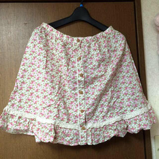 リズリサ(LIZ LISA)のLIZ LISAの花柄スカート(ミニスカート)