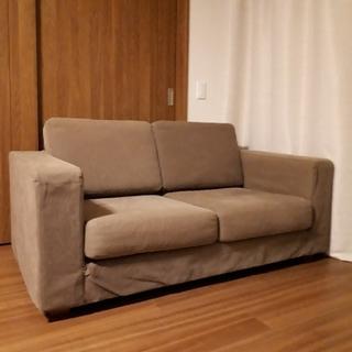ムジルシリョウヒン(MUJI (無印良品))の無印良品 ソファー(二人掛けソファ)