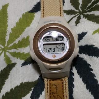 ベビージー(Baby-G)のCASIO Baby-G bg-381 ジーショック ベージュ ジーンズシリーズ(腕時計)