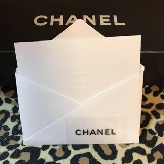 シャネル(CHANEL)のシャネル  メッセージカード&シール(カード/レター/ラッピング)
