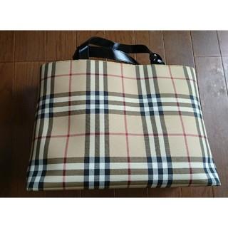 BURBERRY - BURBERRYトートバッグの通販 by しま s shop|バーバリーなら ... c573cd6522
