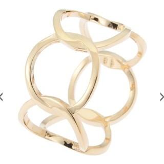ココシュニック(COCOSHNIK)のCOCOSHNIK ココシュニック サークルモチーフ リング(リング(指輪))