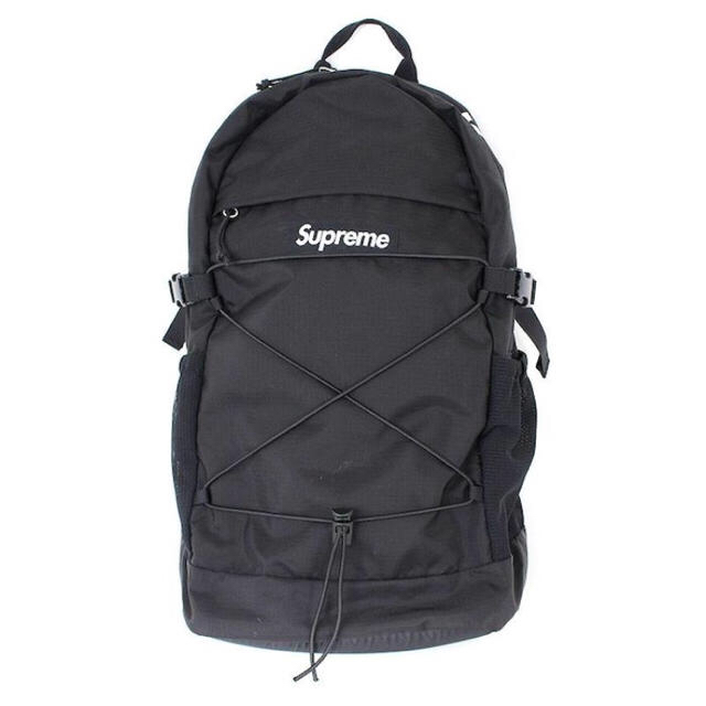 76a078897f0b 【Supreme Backpack シュプリーム バックパック リュック バッグ】 Black 18ss 黒
