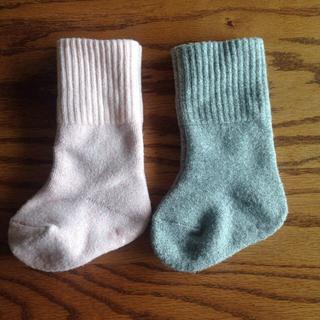 ムジルシリョウヒン(MUJI (無印良品))の無印良品 厚手 靴下 11-13cm 2足セット(靴下/タイツ)