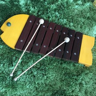 ボーネルンド(BorneLund)のボーネルンド 木琴魚(楽器のおもちゃ)