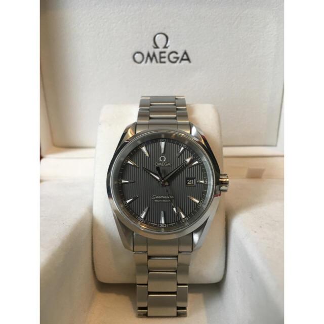OMEGA - オメガ OMEGA シーマスター アクアテラ クォーツ メンズ 腕時計 QZの通販