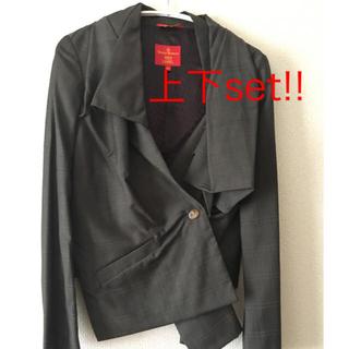 ヴィヴィアンウエストウッド(Vivienne Westwood)のVivienne  Westwood REDLABAL スーツ。卒業式入学式(スーツ)