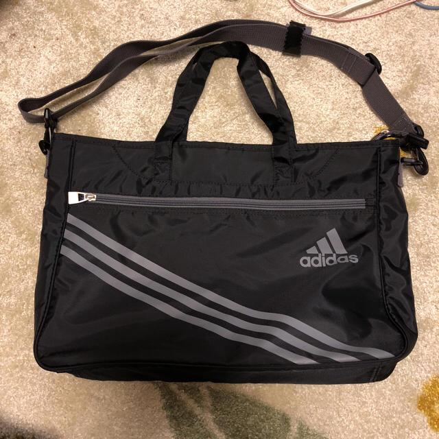 adidas(アディダス)のadidas 2ウェイ ブラック ショルダー メンズのバッグ(ショルダーバッグ)の商品写真