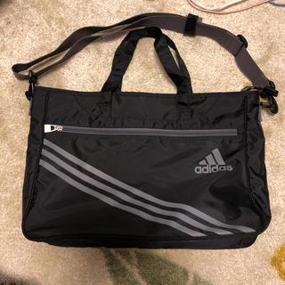 アディダス(adidas)のadidas 2ウェイ ブラック ショルダー(ショルダーバッグ)