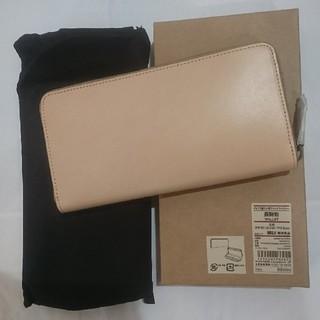 新品 定価¥9900 MUJI 無印良品 イタリア産 ヌメ革 長財布 ウォレット ブラック レザー 牛革 黒 メンズ 男女兼用 レディース