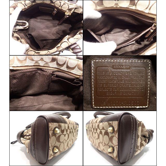 fc000e5f011c COACH(コーチ)のA520 中古 コーチ シグネチャー ミディアムキャリーオール F10507 レディースのバッグ