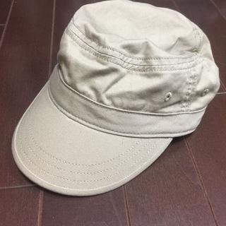 ジーユー(GU)の帽子ベージュ(その他)