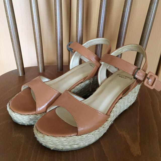 BARCLAY(バークレー)の【値下げ】BARCLAY ウェッジサンダル レディースの靴/シューズ(サンダル)の商品写真