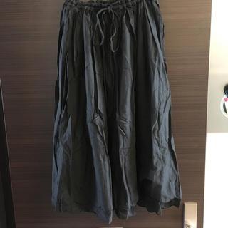 ツモリチサト(TSUMORI CHISATO)のTSUMORI CHISATO ツモリチサト スカート ブラック (ひざ丈スカート)