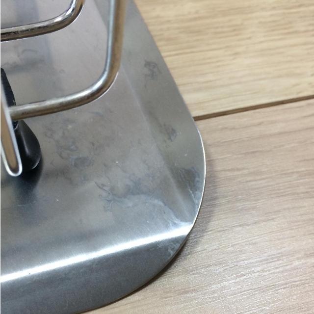 MUJI (無印良品)(ムジルシリョウヒン)の無印 ステンレス 水切りかご 水切りトレー インテリア/住まい/日用品のキッチン/食器(収納/キッチン雑貨)の商品写真