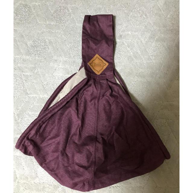 VETTA(ベッタ)のキャリーミープラス 抱っこひも☺︎ キッズ/ベビー/マタニティの外出/移動用品(抱っこひも/おんぶひも)の商品写真