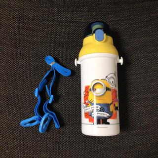 ユニバーサルスタジオジャパン(USJ)のミニオンズ ワンタッチ 水筒 未使用品 480ml(キャラクターグッズ)