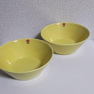イッタラ(iittala)の新品 イッタラ ティーマ イエロー 15cm ボウル 2枚(食器)