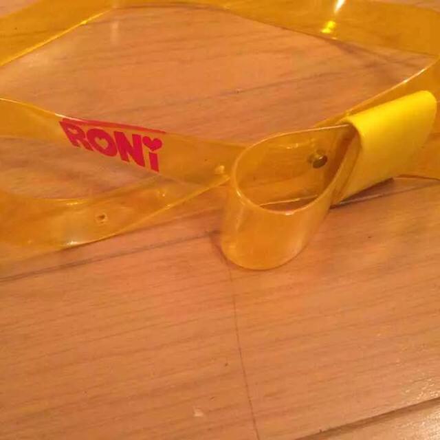RONI(ロニィ)のRONI イエローリボンベルト キッズ/ベビー/マタニティのこども用ファッション小物(ベルト)の商品写真