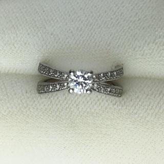 38万→33万✳️今だけ値下げ。PT900 ダイヤモンドリング (リング(指輪))