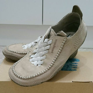 パタゴニア(patagonia)のパタゴニア スニーカーの様な革靴(スニーカー)