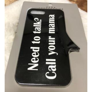 ザラ(ZARA)のZara モバイルケース モバイルカバー プラス iPhone 新品未開封(モバイルケース/カバー)