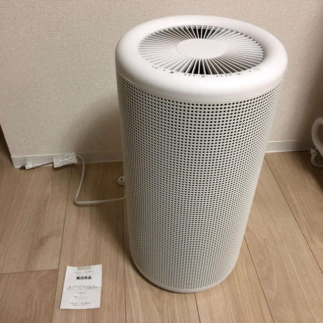 MUJI (無印良品)(ムジルシリョウヒン)の無印良品 空気清浄機 MJ-AP1 美品 バルミューダ共同開発 スマホ/家電/カメラの生活家電(空気清浄器)の商品写真