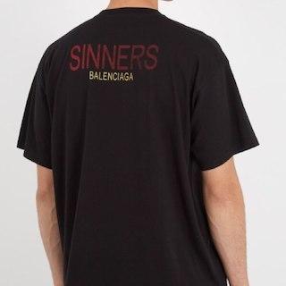 バレンシアガ(Balenciaga)のbalenciaga カプセル18ss SINNERS Tシャツ XS(その他)