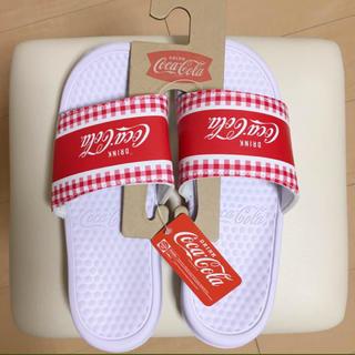 コカコーラ(コカ・コーラ)のコカコーラ シャワーサンダル L 新品未使用☆(サンダル)