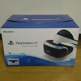 プレイステーションヴィーアール(PlayStation VR)のPlayStation VR PS Camera 同梱版 CUHJ-16001(家庭用ゲーム機本体)