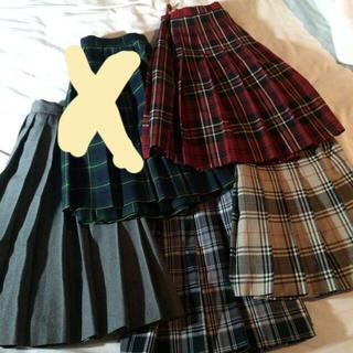 イーストボーイ(EASTBOY)の制服プリーツスカート☆ブランド(ひざ丈スカート)