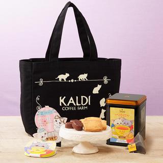 カルディ(KALDI)の【新品未開封】KALDI 猫の日トートバッグ(トートバッグ)