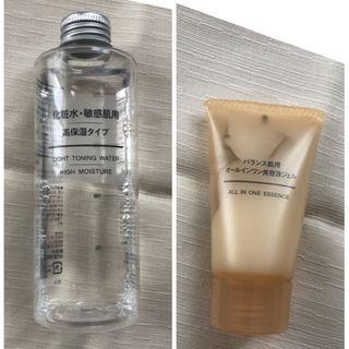 ムジルシリョウヒン(MUJI (無印良品))の無印良品のスキンケア商品2点おまとめ(化粧水 / ローション)