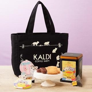 カルディ(KALDI)の【新品抜き無し】カルディ✨猫の日バッグ(トートバッグ)