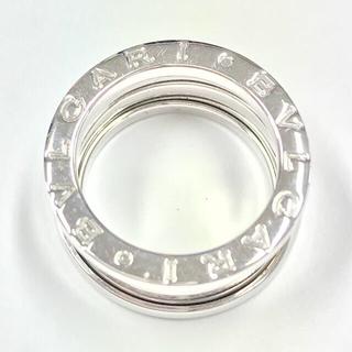 ブルガリ(BVLGARI)の研磨済正規品ブルガリBVLGARI B-01ビーゼロワン750WG指輪 6.5号(リング(指輪))