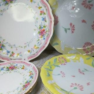 ニッコー(NIKKO)のなおましゃ様専用 大皿と取り皿2枚の2セット計6枚(食器)