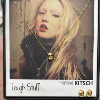 キッチュ(KITSCH)のKITSCH ネックレス&ピアス 新品未使用品(ネックレス)
